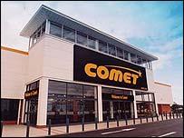 Comet store, Hull