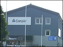 Compair UK factory in Camborne