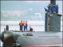 Ming class submarine (picture courtesy www.sinodefence.com)
