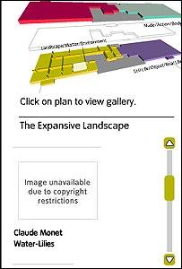 Screen grab from Tate Modern website
