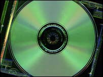 Compact disc, BBC