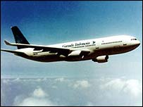 Garuda plane
