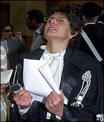 Lawyer Giulia Bongiorno
