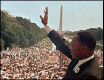 Martin Luther King: I have a dream speech, Washington DC August 1963