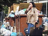 Rubbish on Marseille's streets