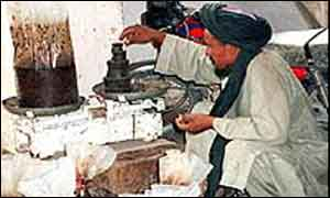 Opium producer