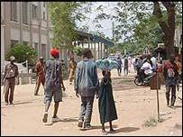 Bamako street scene