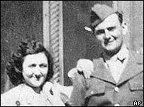 Ethel Rosenberg and her brother David Greenglass
