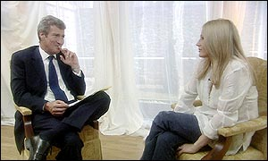 Jeremy Paxman and JK Rowling