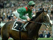 Walter Swinburn and Shergar