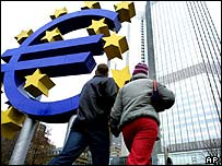 The ECB headquarters in Frankfurt
