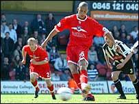 Brighton forward Bobby Zamora