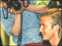 David Beckham in the spotlight again