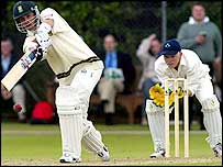 Boeta Dippenaar batting against Ireland