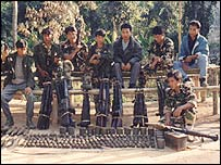 Separatist rebels in Assam state