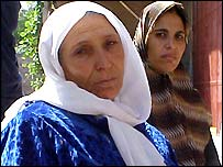 Samia and Majda's mother and sister-in-law Nawal