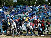 Glastonbury festival 2002