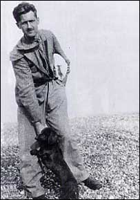Picture of George Orwell at Walberswick, Suffolk. Used by permission. From Orwell, The Life, by DJ Taylor