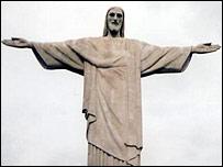 Statue of Christ (Jesus) Sugarloaf Mountain, Rio de Janeiro, Brazil