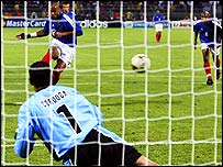 Thierry Henry slotted the winning penalty for France