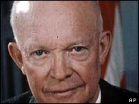 President Dwight D Eisenhower