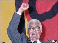 Walter Sisulu. Picture: 1989.