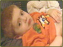 Charlie Whitaker, whose younger brother was conceived in the hope his stem cells could treat Charlie's rare form of anaemia.