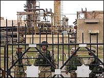 US troops guarding Kirkuk refinery