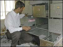 Ali Thowani in Nasiriyah's Technical Institute