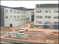 Work at the Met Office's new premises in Exeter