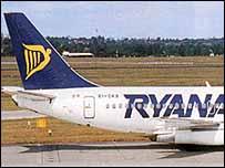 Ryanair tail