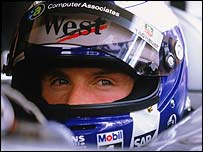 David Coulthard is 29 points behind championship leader Michael Schumacher