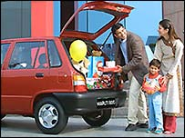 Maruti 800 car