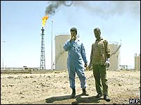 Basra oil refinery in Shuaiba, southern Iraq