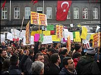 Anti-war protest in Turkey (photo: Ozgur Yazici)