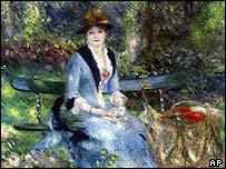 Dans les roses (Madame Leon Clapisson)