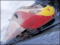 Alstom 'tilting' train