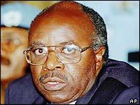 Former Rwandan Prime Minister, Faustin Twagiramungu