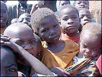 Children in Angola