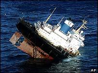 Prestige sinking (Image: AP)