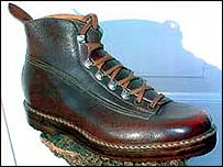 Sir Edmund Hillary's shoe