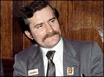 Lech Walesa in 1980
