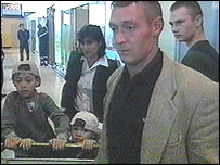 Russian family arriving in Moscow from Ashgabat