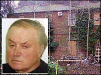 Jailed farmer Tony Martin and his Norfolk farm