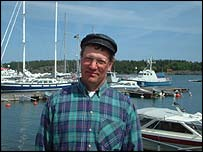 Fisherman Anders Jonsson