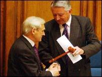 George Reid and Sir David Steel