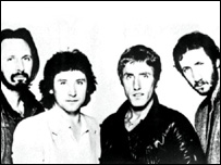 The Who with Townshend right