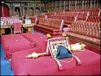 House of Lords, the Ceremonial Mace