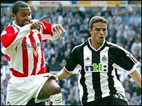 Sunderland play Newcastle