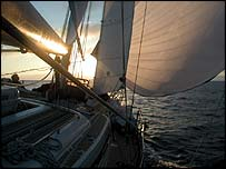 Clipper yacht